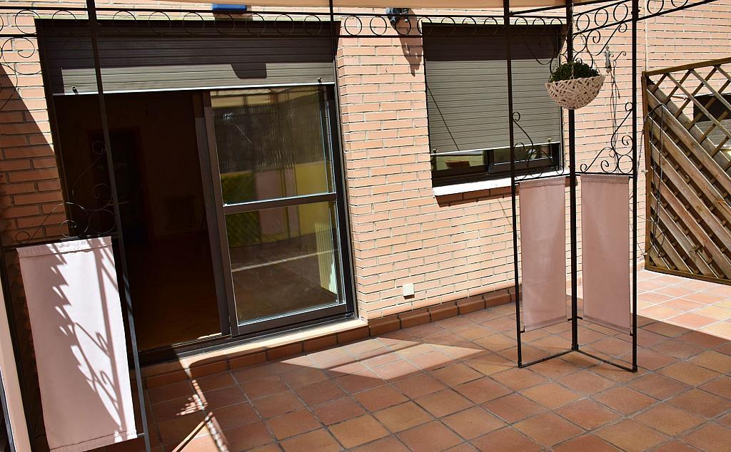 Terraza - Piso en alquiler en calle Monaco, Rosas-Musas en Madrid - 301813814
