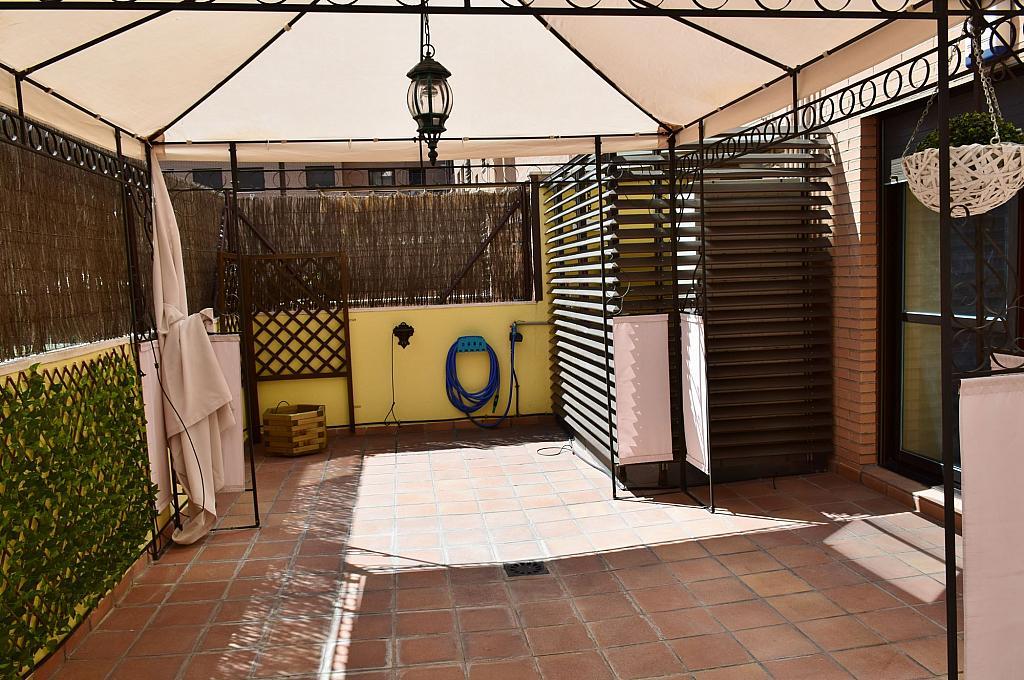 Terraza - Piso en alquiler en calle Monaco, Rosas-Musas en Madrid - 301813846