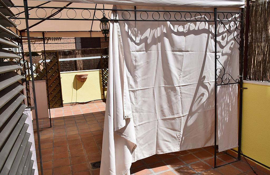 Terraza - Piso en alquiler en calle Monaco, Rosas-Musas en Madrid - 301813848
