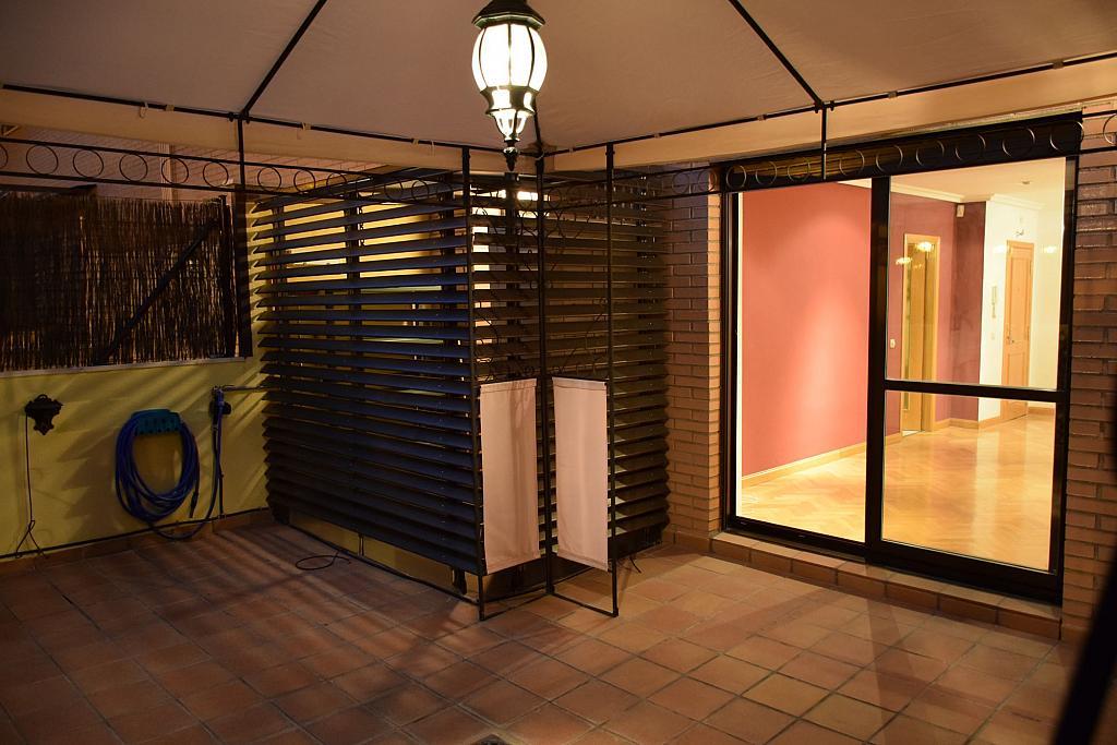 Terraza - Piso en alquiler en calle Monaco, Rosas-Musas en Madrid - 301813879