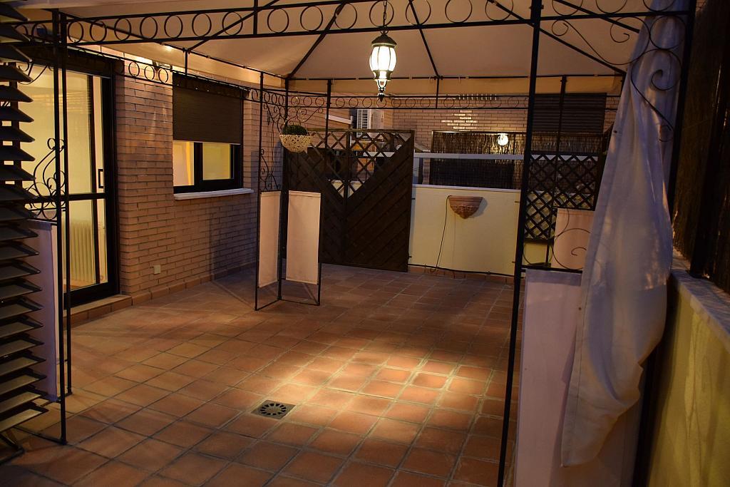 Terraza - Piso en alquiler en calle Monaco, Rosas-Musas en Madrid - 301814021