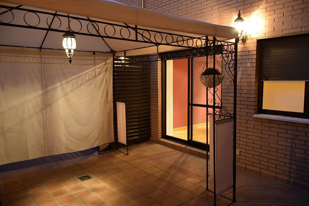 Terraza - Piso en alquiler en calle Monaco, Rosas-Musas en Madrid - 301814034