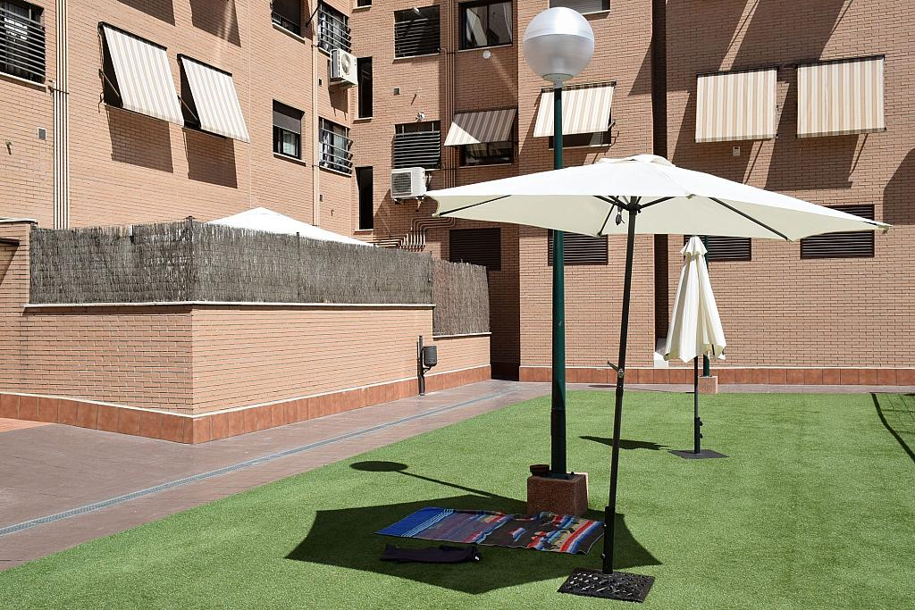 Jardín - Piso en alquiler en calle Monaco, Rosas-Musas en Madrid - 301814934