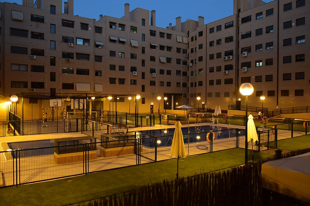 Piscina - Piso en alquiler en calle Monaco, Rosas-Musas en Madrid - 301815028