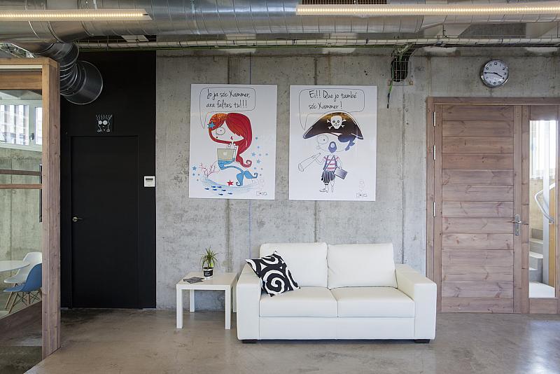 Vestíbulo - Oficina en alquiler en calle Baixada de Les Espenyes, Centre en Mataró - 151296214