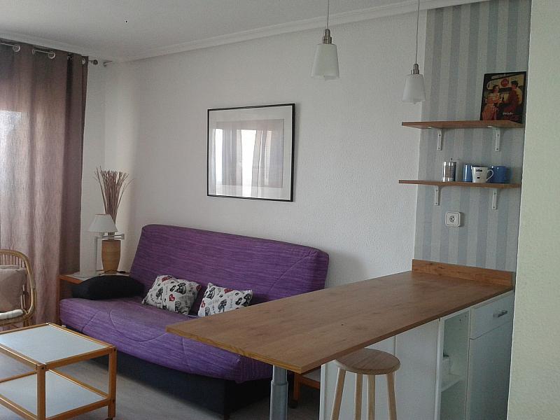 Salón - Apartamento en alquiler en vía Gran, Manga del mar menor, la - 170299300