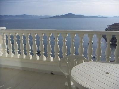 Terraza - Apartamento en alquiler en vía Gran, Manga del mar menor, la - 24275705