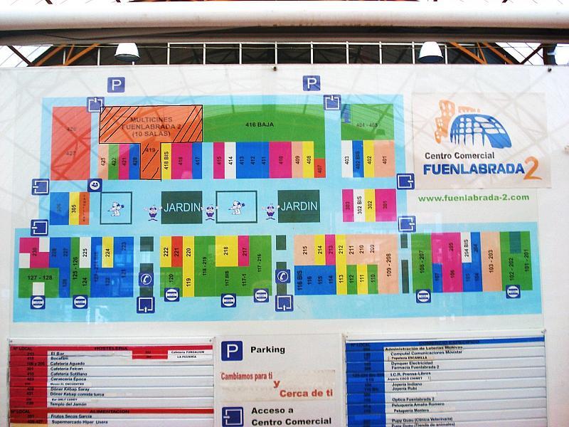 Plano - Local comercial en alquiler en calle Portugal, Centro en Fuenlabrada - 283642724