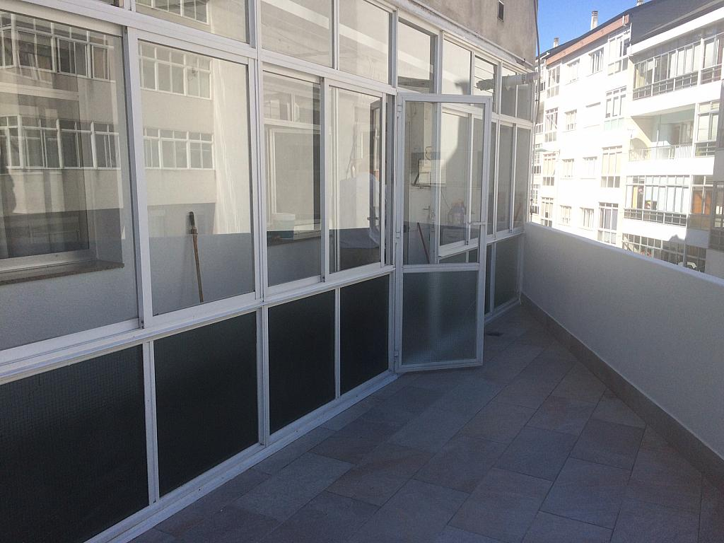 Terraza - Piso en alquiler en calle Primavera, Lugo - 330143412