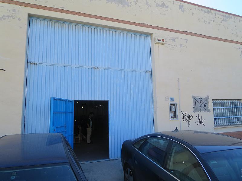 Fachada - Nave industrial en alquiler en calle Espacio, Polígonos-Recinto Ferial Cortijo de Torres en Málaga - 181577710