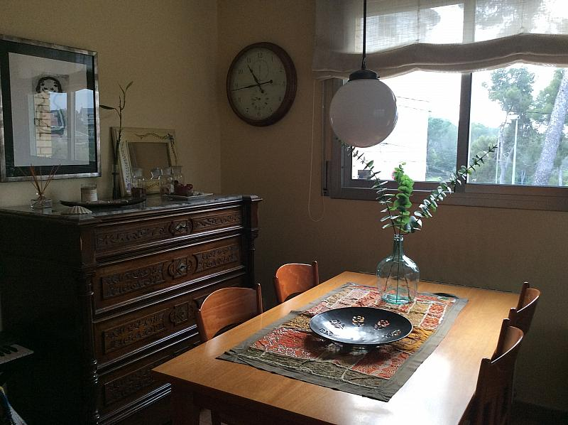 Comedor - Casa pareada en alquiler en calle Verge de Montserrat, La Floresta en Sant Cugat del Vallès - 189451587