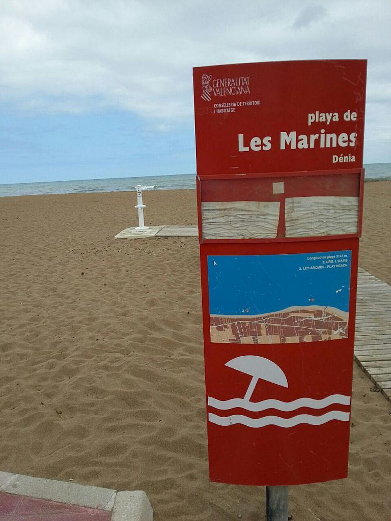 Plano - Apartamento en alquiler en calle Coll Verd, Las Marinas - Les Marines  en Dénia - 237712216