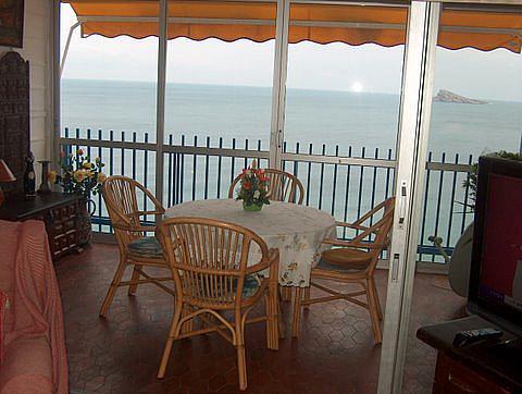Terraza - Apartamento en venta en calle Alcoy, Levante en Benidorm - 258353929