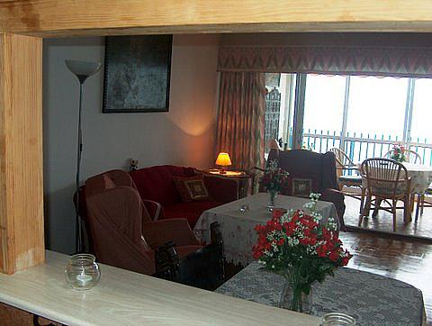 Salón - Apartamento en venta en calle Alcoy, Levante en Benidorm - 258353967