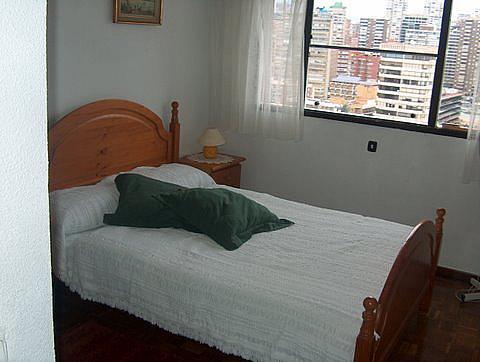 Dormitorio - Apartamento en venta en calle Alcoy, Levante en Benidorm - 258353970