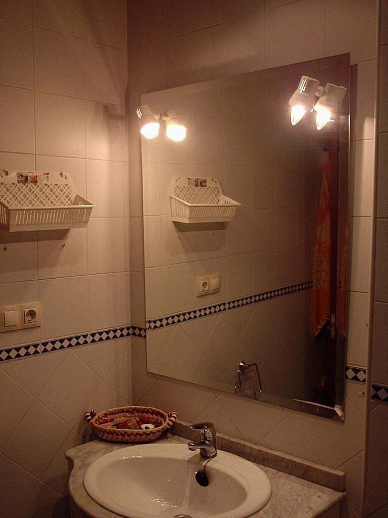 Baño - Apartamento en alquiler en calle Barrerillo, Bormujos - 249923136