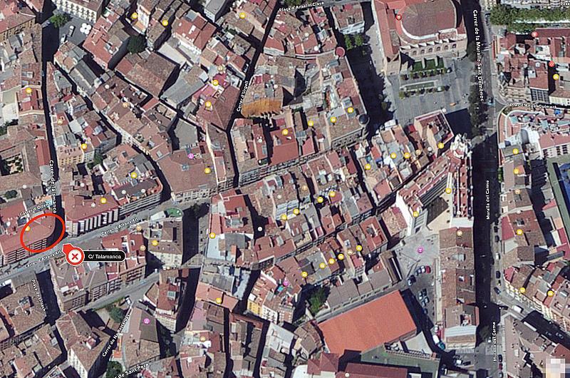 Plano - Despacho en alquiler en calle Talamanca, Barri antic en Manresa - 222219359