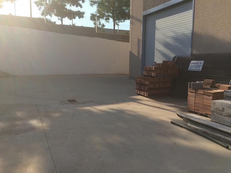 Patio - Nave industrial en alquiler en calle Vinyets, Sant Quintí de Mediona - 199568430