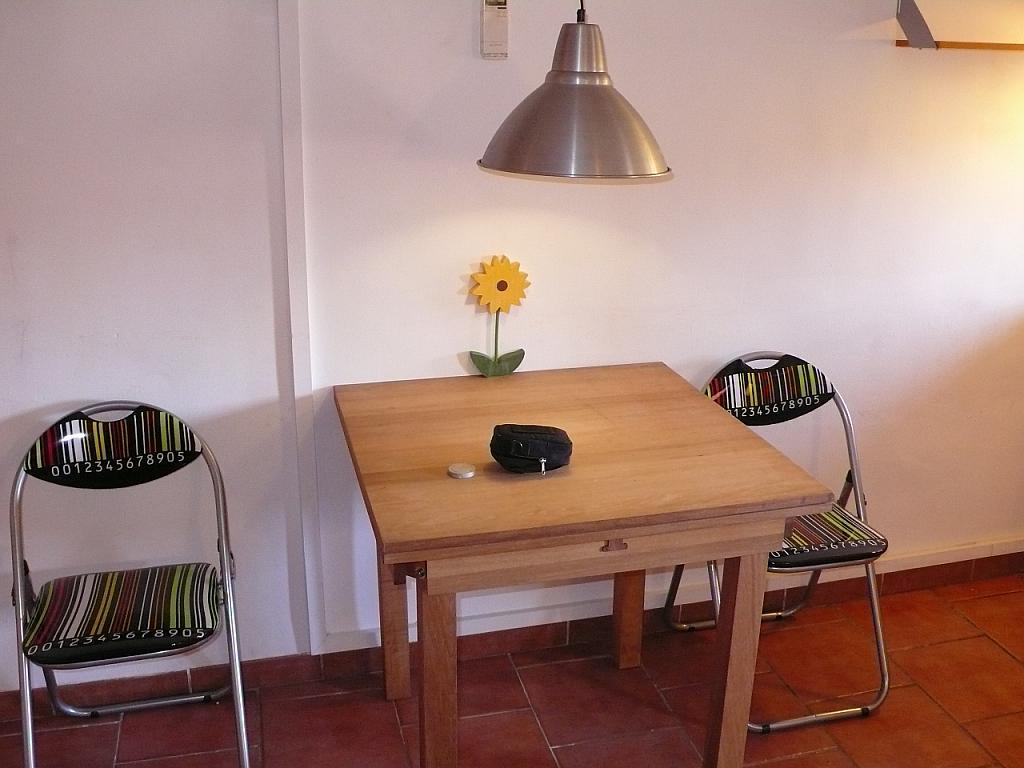 Comedor - Apartamento en alquiler en plaza Cabrits, Part Alta en Tarragona - 331823863