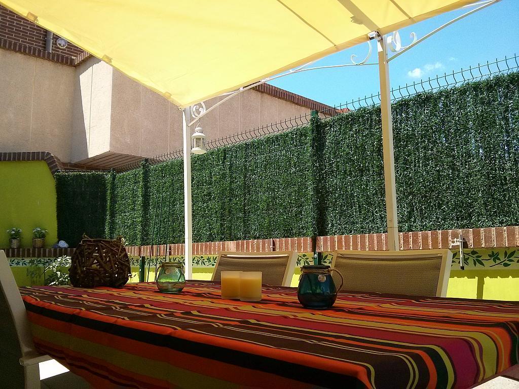 Terraza - Piso a compartir en calle Maestro Rovira, Huesca - 337174755
