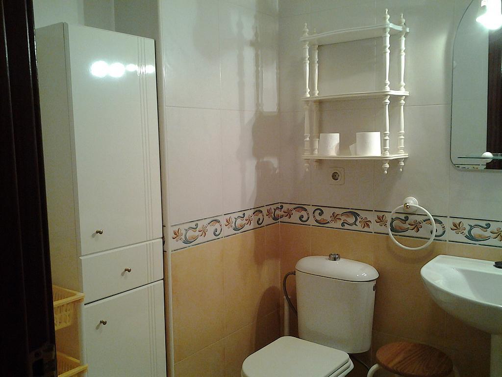 Baño - Piso en alquiler en plaza Cataluña, Jerez Ciudad en Jerez de la Frontera - 306564495