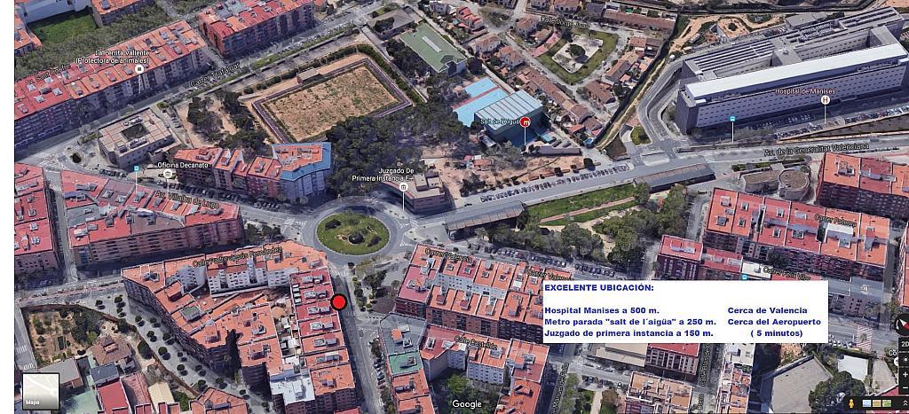 Plano - Local comercial en alquiler en calle Tribunal de Las Aguas, Quart de Poblet - 314901898