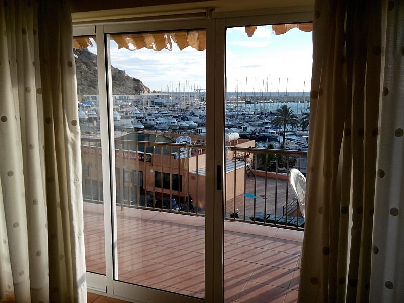 Terraza - Apartamento en venta en calle Del Port, Calpe/Calp - 211010559