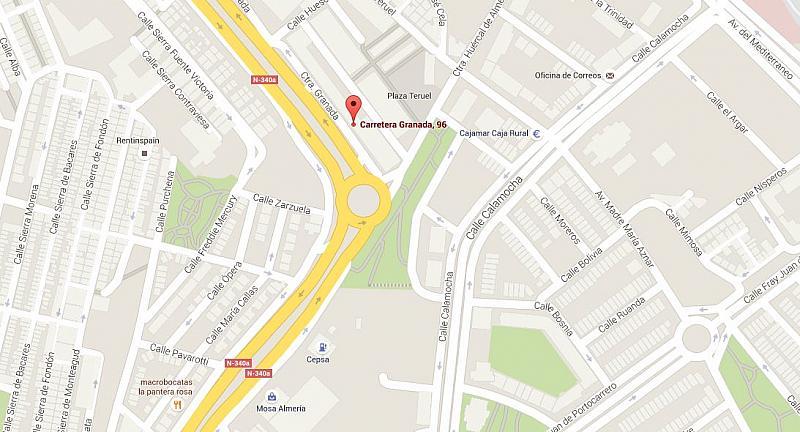 Plano - Local comercial en alquiler en carretera Granada, Villa Blanca en Almería - 219892435