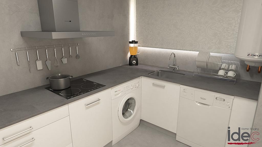 Cocina - Apartamento en venta en calle Diputacion, Vilafortuny en Cambrils - 326695122