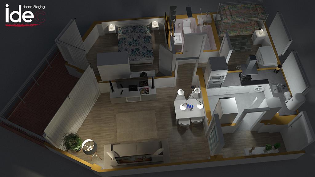 Plano - Apartamento en venta en calle Diputacion, Vilafortuny en Cambrils - 326695152