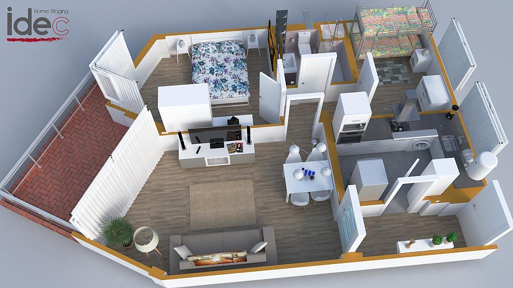 Plano - Apartamento en venta en calle Diputacion, Vilafortuny en Cambrils - 326695153