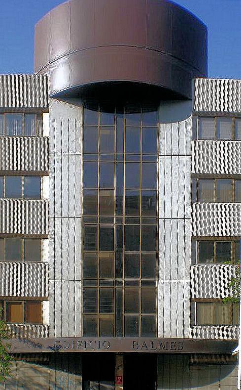 Fachada - Oficina en alquiler en calle Balmes, Ripollet - 130424940