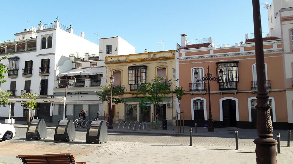 Fachada - Local comercial en alquiler en calle Almirante Lobo, Arenal en Sevilla - 293557733