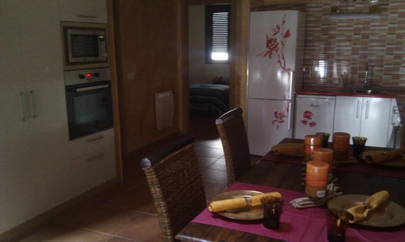 Salón - Ático-dúplex en alquiler en urbanización San Sebastian, Mijares - 81539441
