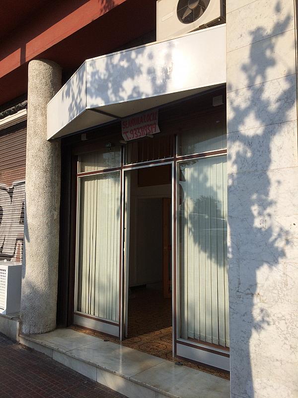 Fachada - Local comercial en alquiler en calle Ciudad de Hospitalet, Can vidalet en Esplugues de Llobregat - 327215754