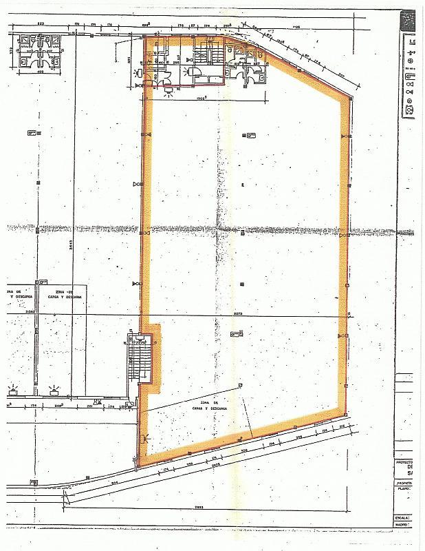 Plano - Oficina en alquiler en calle Manuel Tovar, Tres Olivos-Valverde en Madrid - 323490721