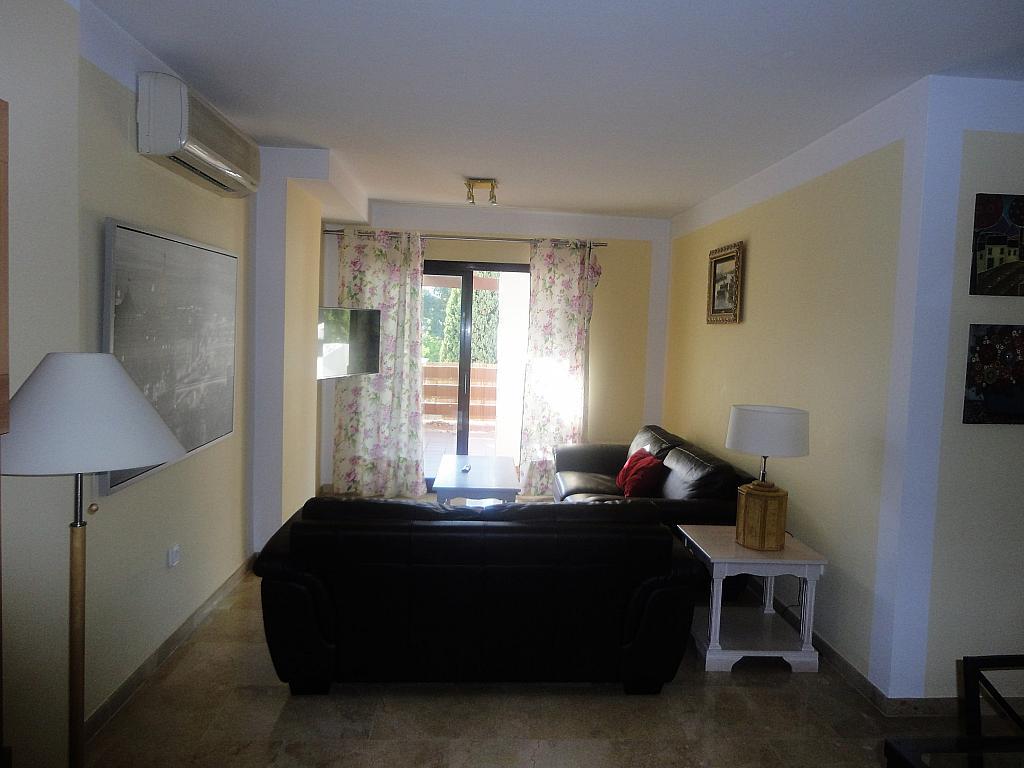 Salón - Apartamento en alquiler en calle Sierra Bermeja, Urbanizaciones en Marbella - 330777639