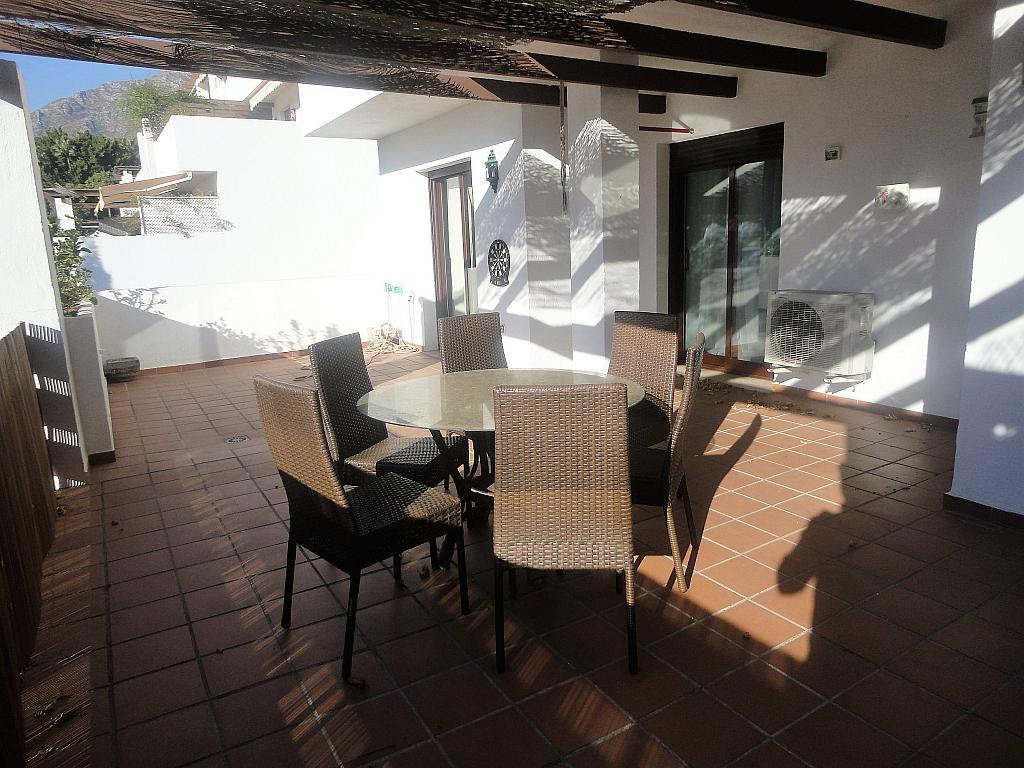 Terraza - Apartamento en alquiler en calle Sierra Bermeja, Urbanizaciones en Marbella - 330777718