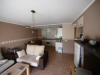 Salón - Apartamento en alquiler en calle San Vicente, Bonrepòs i Mirambell - 270727603