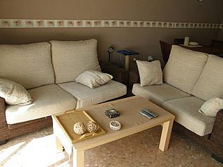 Salón - Apartamento en alquiler en calle San Vicente, Bonrepòs i Mirambell - 270727616