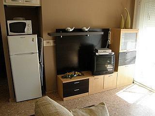 Salón - Apartamento en alquiler en calle San Vicente, Bonrepòs i Mirambell - 270727633