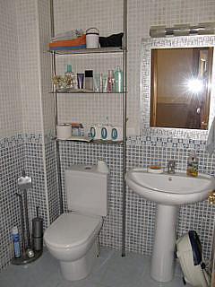 Baño - Apartamento en alquiler en calle San Vicente, Bonrepòs i Mirambell - 270727647
