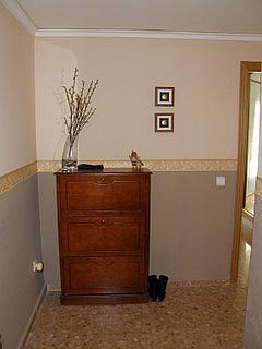 Pasillo - Apartamento en alquiler en calle San Vicente, Bonrepòs i Mirambell - 270727662