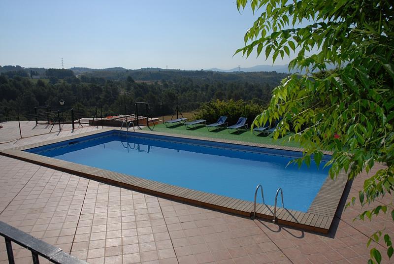 Piscina - Loft en alquiler en carretera Can Valls, Can Valls en Masquefa - 278576280