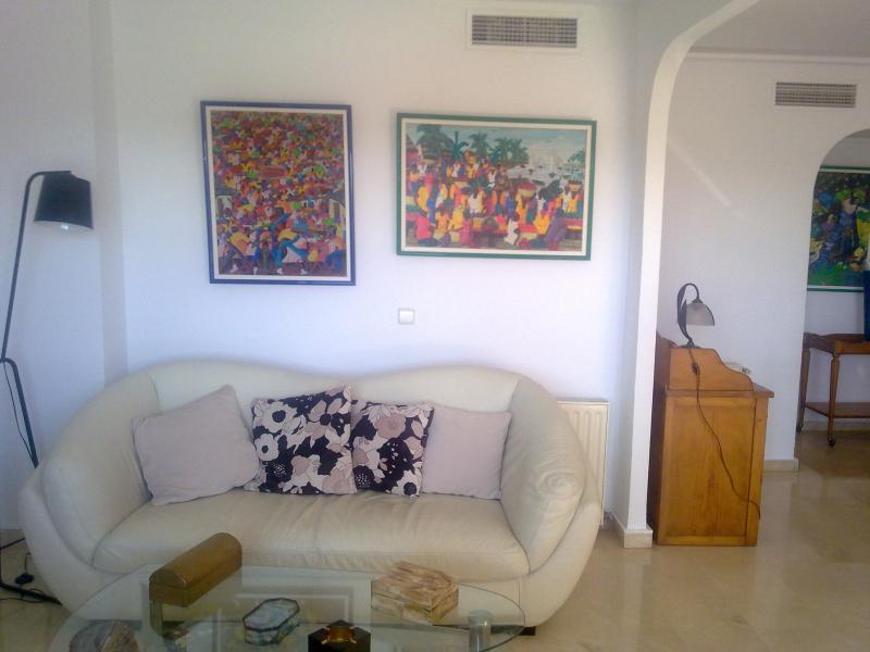 Salón - Piso en alquiler de temporada en calle Profesor Lopez Piñeiro, Valencia - 99480232