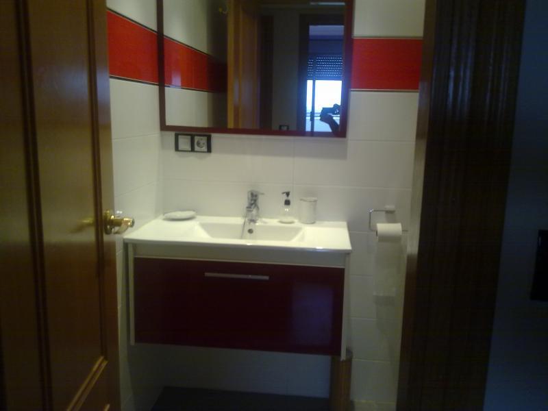 Baño - Apartamento en alquiler de temporada en calle Paseo de la Alameda, Valencia - 120728129