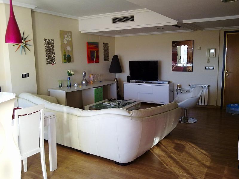 Salón - Apartamento en alquiler de temporada en calle Paseo de la Alameda, Valencia - 127165901