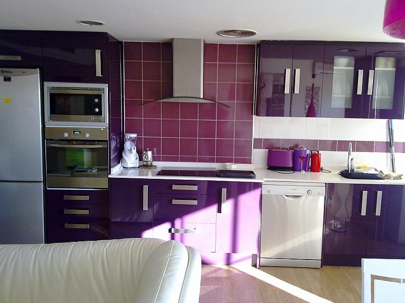 Cocina - Apartamento en alquiler de temporada en calle Paseo de la Alameda, Valencia - 127165902