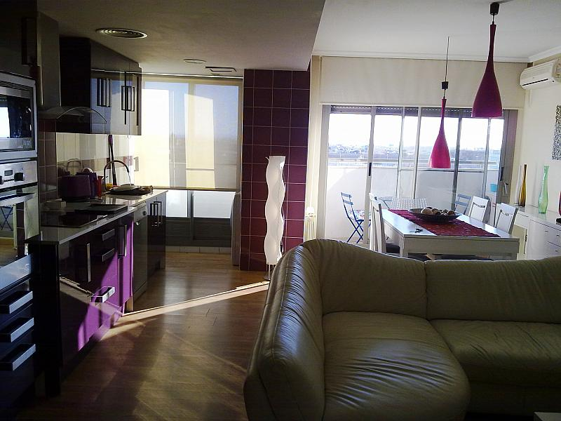 Comedor - Apartamento en alquiler de temporada en calle Paseo de la Alameda, Valencia - 127165906