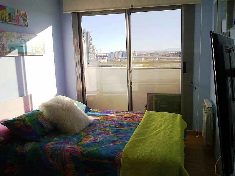 Dormitorio - Apartamento en alquiler de temporada en calle Paseo de la Alameda, Valencia - 127165908